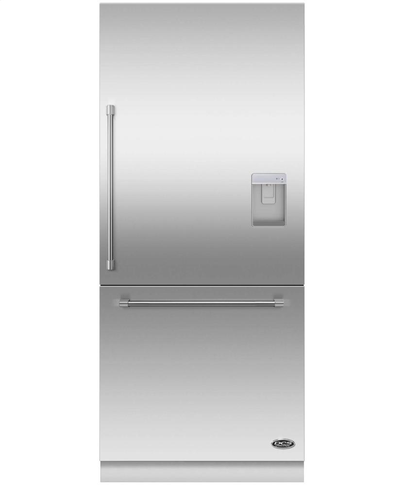 "DCS Activesmart(TM) Refrigerator 36"" Integrated Bottom Freezer With Ice & Water "" 80"" / 84"" Tall"
