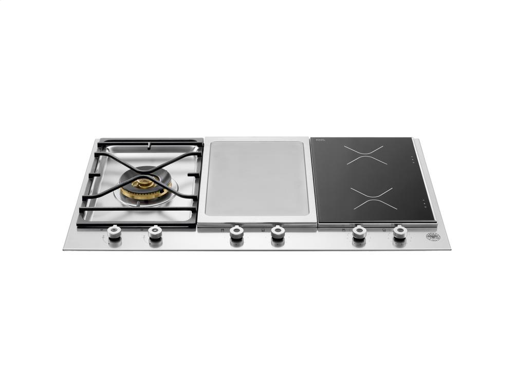 Electric Cooktop With Griddle ~ Pm igx bertazzoni