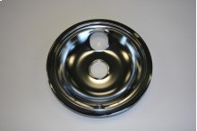 "8"" Burner Drip Bowl, Chrome"