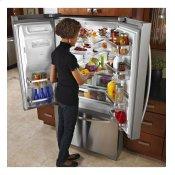 KitchenAid® 29 Cu. Ft. Standard-Depth French Door Refrigerator, Architect® Series II - Monochromatic Stainless Steel Alternate Image