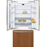 """BoschBENCHMARK SERIESBenchmark(R) Benchmark(R), 36"""" Built-in French Door Refrigeratorwith Home Connect, B36IT900NP, Custom Panel"""