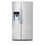 FrigidaireGALLERYFrigidaire Gallery 25.6 Cu. Ft. Side-by-Side Refrigerator