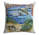 Jack of all Travels Throw Pillow Product Image