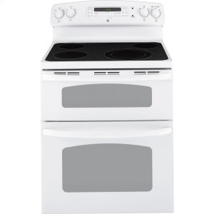 "Ge(r) 30"" Free-Standing Electric Dual Cavity Range"