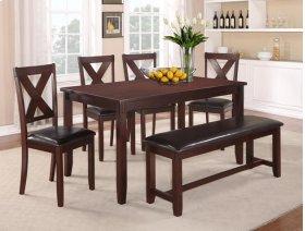 Clara 5-pk Dinette Table+chair Set