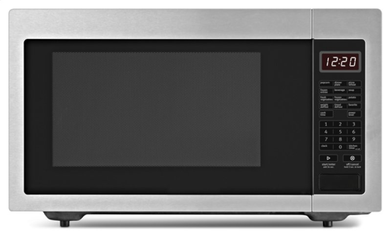 ... Hill, CA - 1.6 cu. ft. Countertop Microwave Oven - stainless_steel