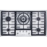 MieleMiele KM 2355 G Gas cooktop in maximum width for the best possible cooking and user convenience.