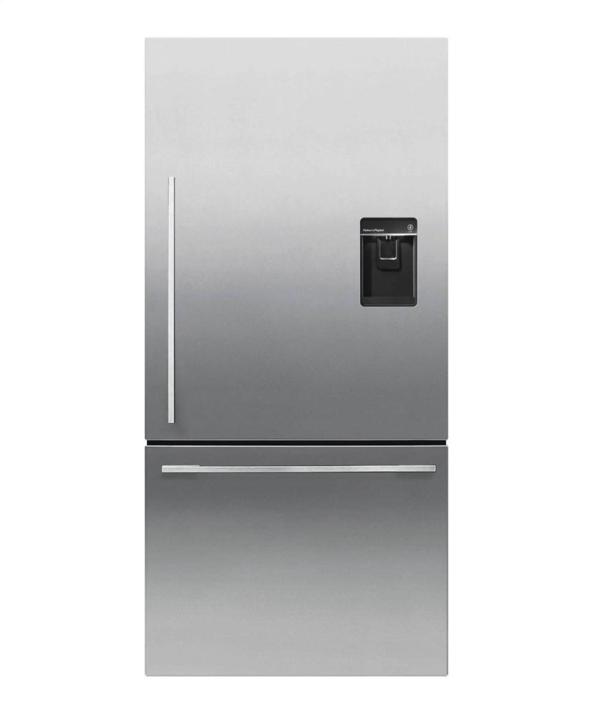 fisher paykel bottom mount refrigerators bottom freezer freestanding ezkleen stainless steel
