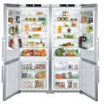 Liebherr 31 Cu Ft Side by Side Counter Depth Refrigerator