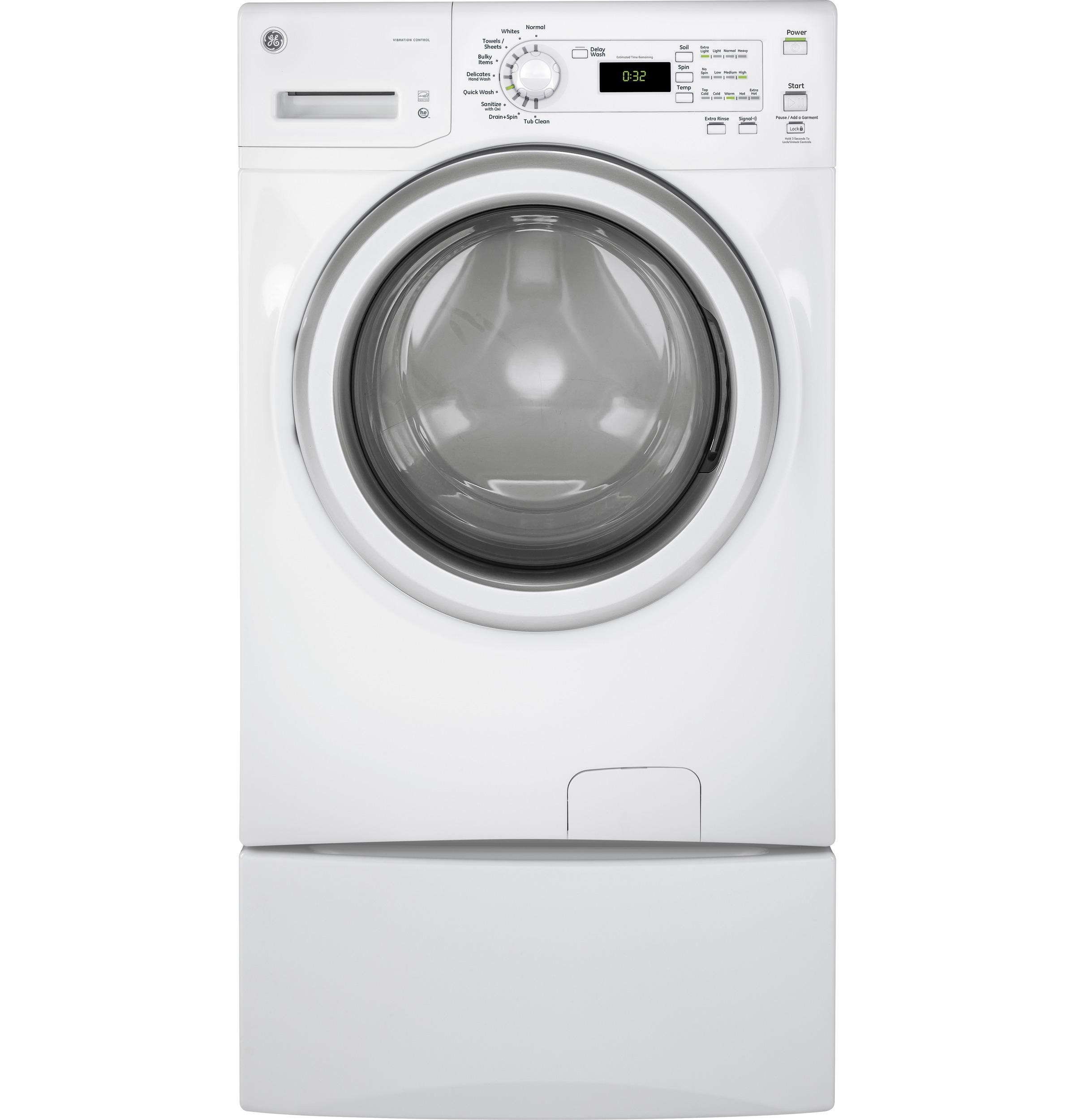 Laundry Front Load Pedestal  White