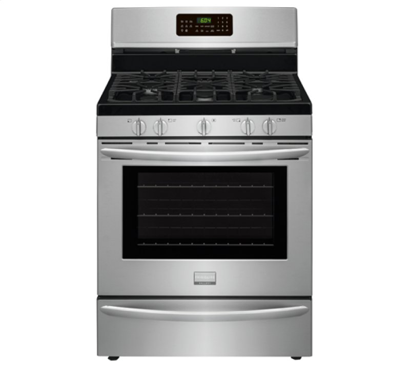 fggfrf in stainless steel by frigidaire in townsend ma frigidaire gallery 30 standing gas range