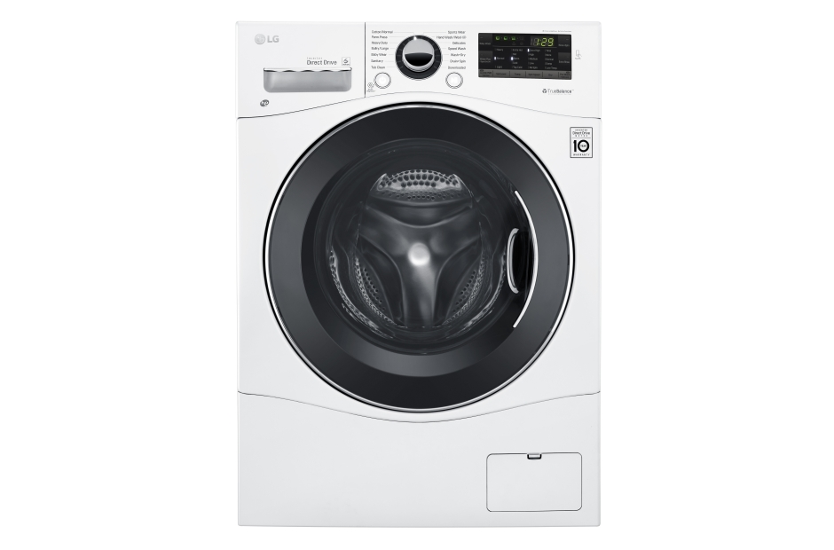 2.3 cu.ft. Compact All-In-One Washer/Dryer  White