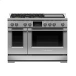 Fisher PaykelFisher Paykel Dual Fuel Range, 48&quot, 5 Burners with Griddle, Self-cleaning