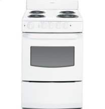 """Hotpoint(R) 24"""" Electric Free-Standing Range"""