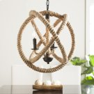 Mayberly 3-Light Rope Orb Pendant Lamp Product Image