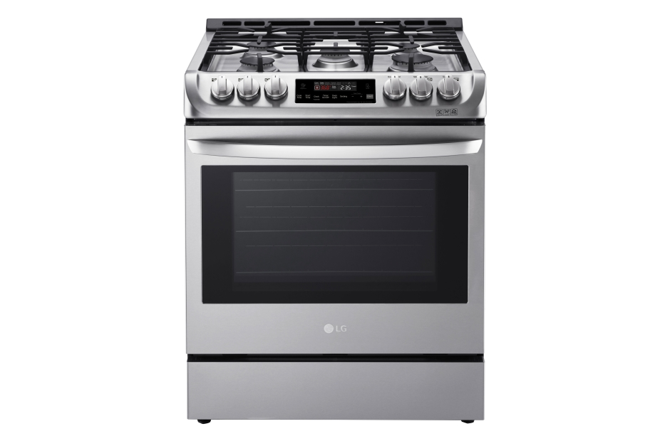6.3 cu. ft. Gas Slide-in Range with ProBake Convection(R) and EasyClean(R)  Stainless Steel