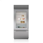 Sub ZeroSub Zero 36&quot Classic Over-and-Under Refrigerator/Freezer with Glass Door