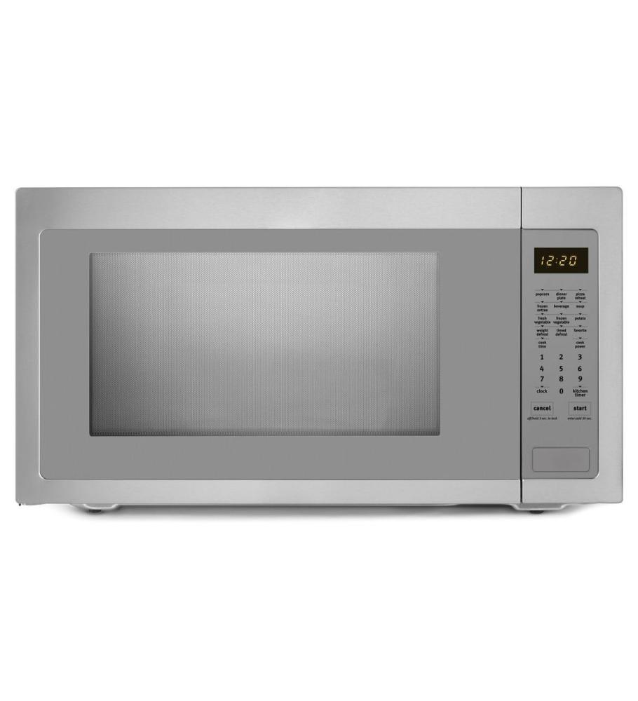 Umc5225db whirlpool 2 2 cu ft countertop microwave with greater capacity black warehouse - Whirlpool discount ...