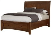Sleigh Storage Bed (Queen) Product Image