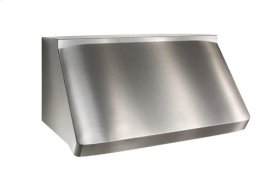 "Centro - 30"" Stainless Steel Pro-Style Range Hood with the modular option of 13 different internal and external blower options, including the iQ6 and iQ12 Blower System"