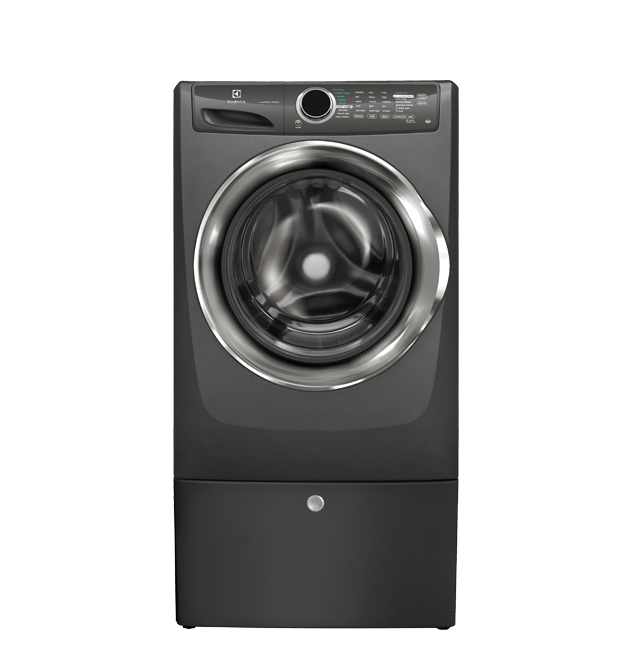 Front Load Perfect Steam(TM) Washer with LuxCare(TM) Wash - 4.3 Cu. Ft  Titanium