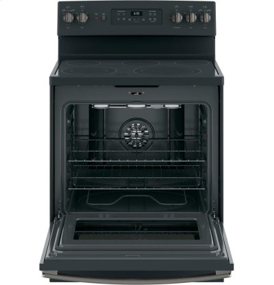 "GE® 30"" Free-Standing Electric Convection Range Product Image"