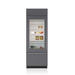 Sub ZeroSub Zero 30&quot Classic Over-and-Under Refrigerator/Freezer with Glass Door - Panel Ready