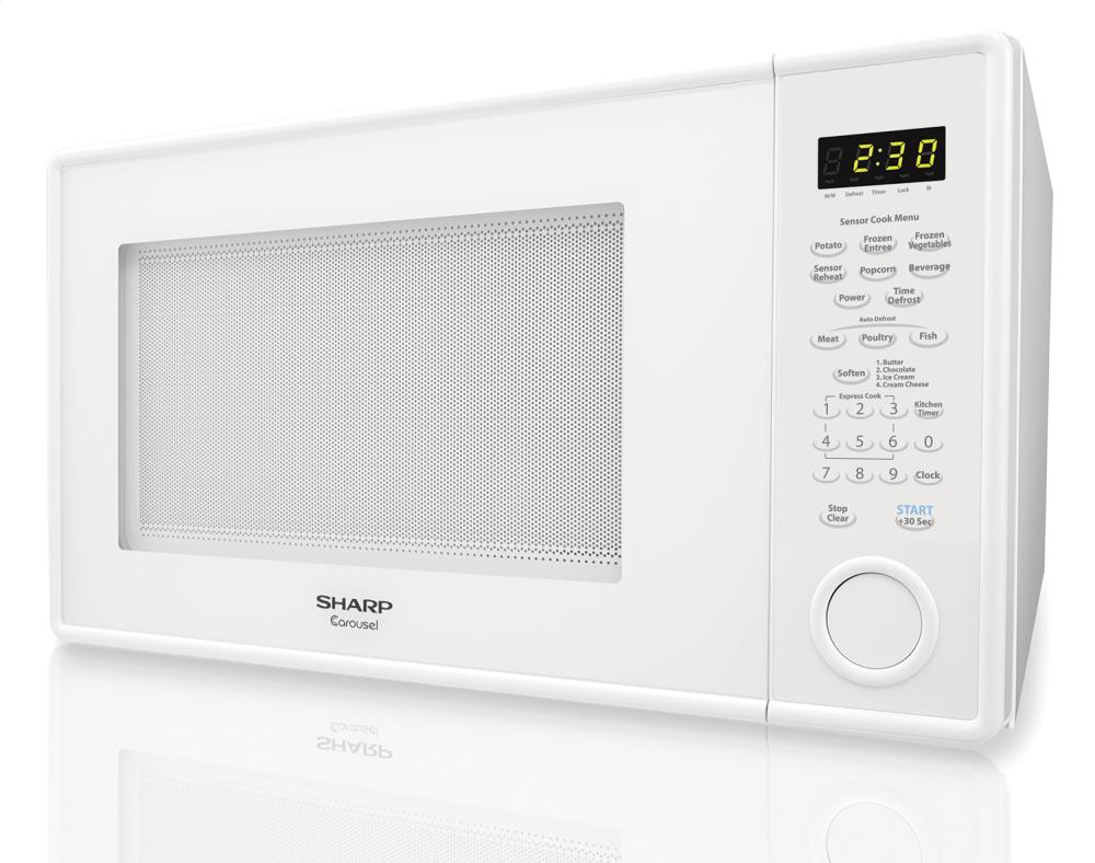 sharp carousel microwave 1100w manual