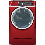 General ElectricGE(R) 8.3 cu. ft. capacity RightHeight Design Front Load electric dryer with steam