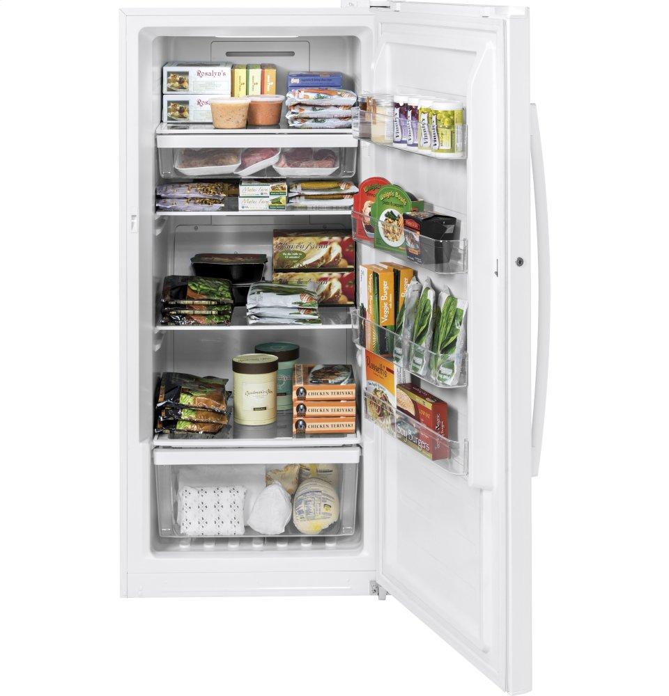 GE(R) 14.1 Cu. Ft. Frost-Free Upright Freezer