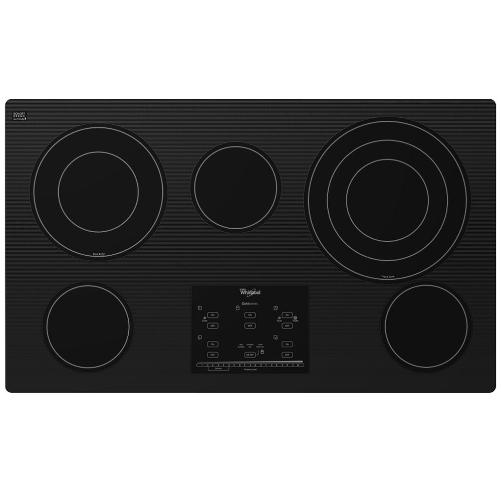 Gold(R) 36-inch Electric Ceramic Glass Cooktop with Tap Touch Controls