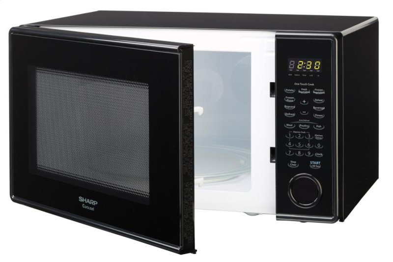 Additional Sharp Carousel Countertop Microwave Oven 1.3 cu. ft. 1000W ...