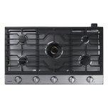 "Samsung36"" Gas Cooktop with 22K BTU True Dual Power Burner (2016)"