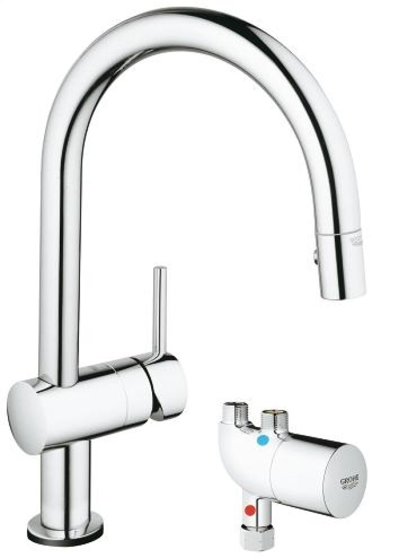 kitchen faucets with touch technology gramp us 31392000 in chrome by grohe in ottawa on chrome pull down kitchen faucets with touch technology