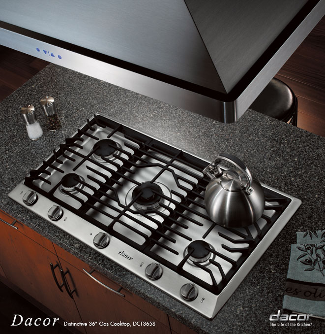 lg studio 30 gas cooktop with the look of lobst