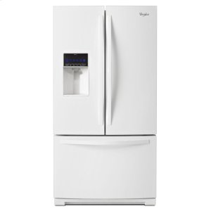 WRF736SDAW&nbspWhirlpool&nbsp36-inch Wide French Door Refrigerator with MicroEdge(R) shelves - 25 cu. ft.