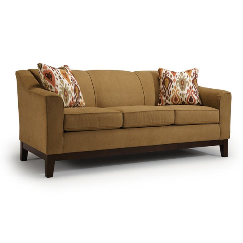 Best home furnishings in wichita ks emeline coll2 stationary sofa