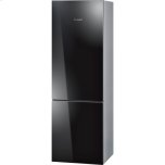 "Bosch24"" Glass Door Counter-Depth Bottom Freezer B10CB80NVB 800 Series - Black Glass"