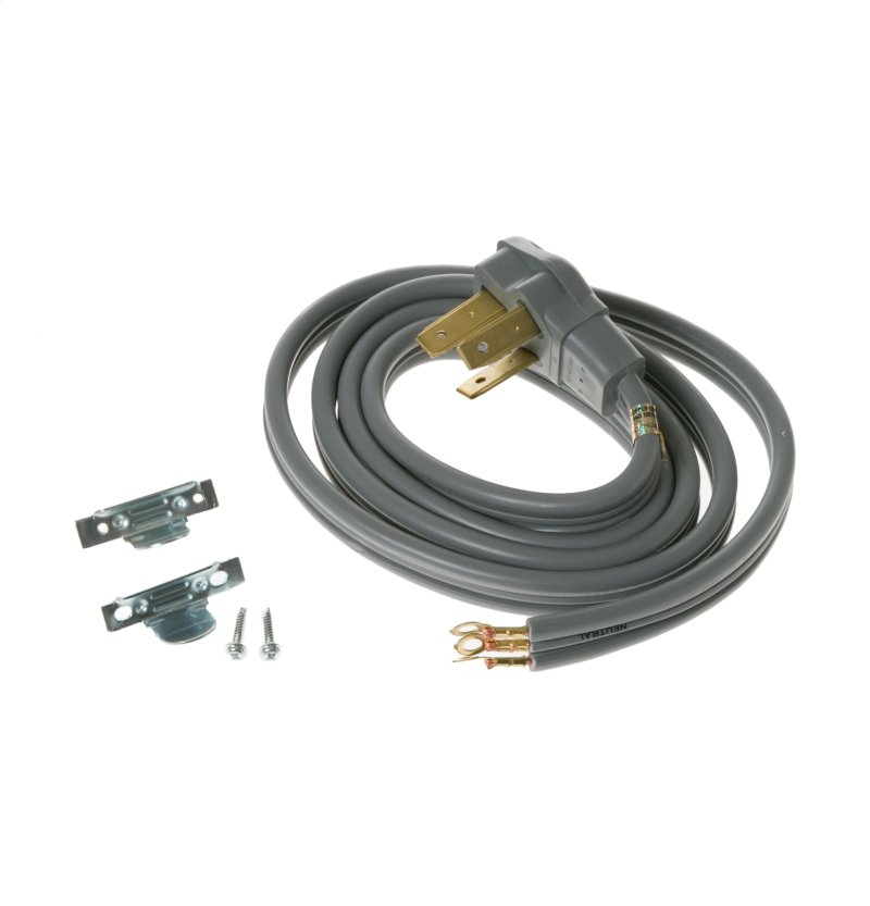 range cord hook up Be sure to install the strain relief that comes with the new cord  of installing a  new 3-prong or 4-prong cord on either your dryer or range.