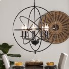 Stilaro 8-Light Atomic Globe Pendant Lamp Product Image