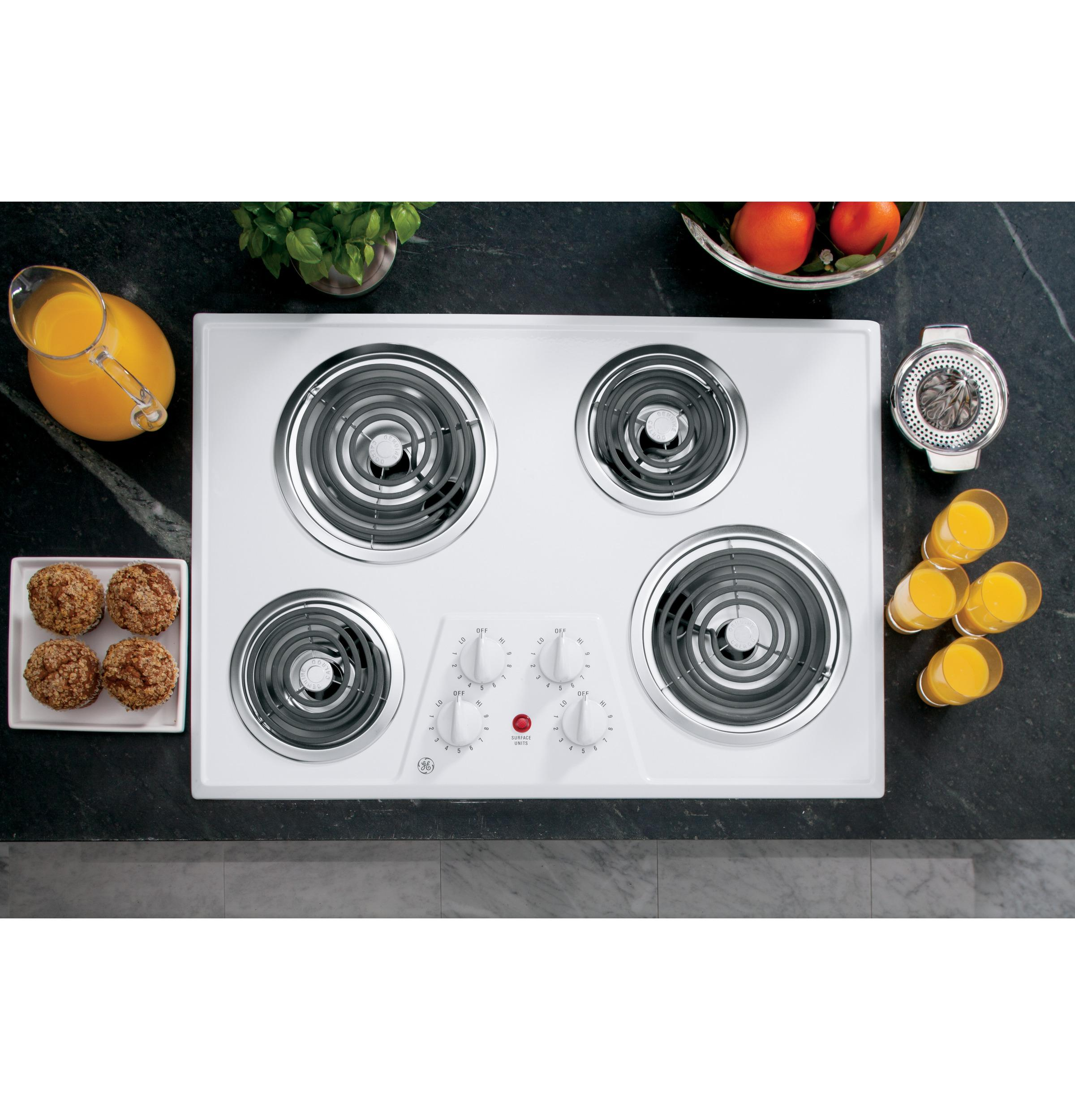 "GE(R) 30"" Built-In Electric Cooktop