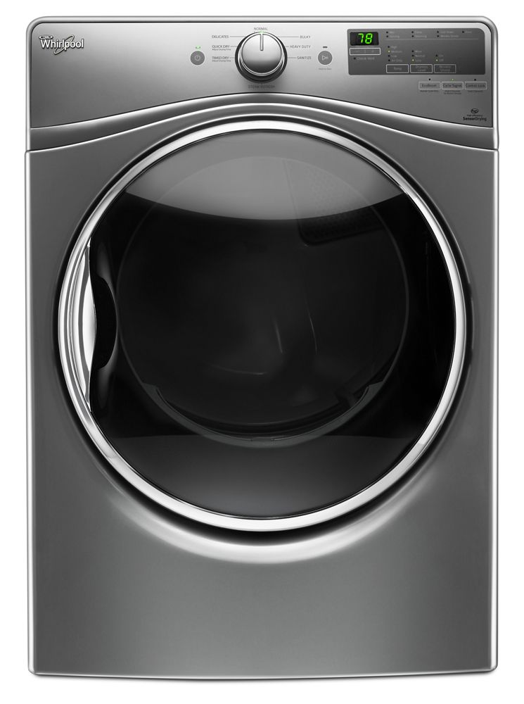7.4 Cu. Ft. Front Load Electric Dryer with Advanced Moisture Sensing System