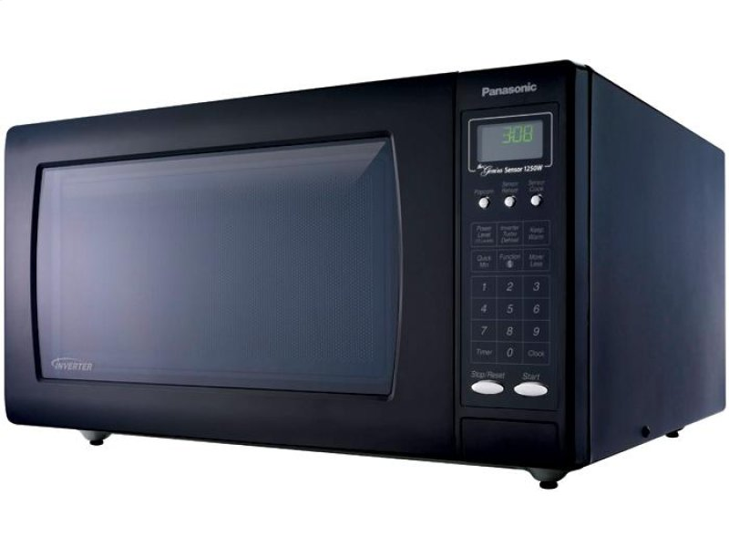 Countertop Microwave With Vent : ... Countertop Microwave Oven with Inverter Technology - Black - NN-H765BF