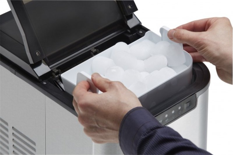 ... With Stainless Steel by Danby in Lancaster, PA - Danby 2 lb Ice Maker