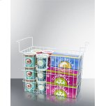 Summit Wired Basket for Commercial Ice Cream Freezers and Dipping Cabinets