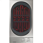 GaggenauVario 200 Series Electric Grill Stainless Steel Control Panel Width 12 ''