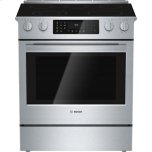 "Bosch30"" Electric Slide-in Range 800 Series - Stainless Steel"