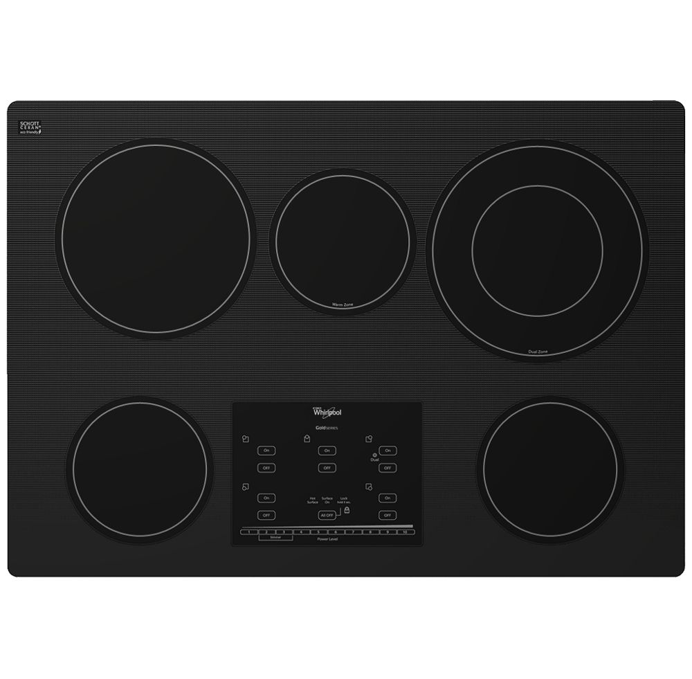 Gold(R) Series 30-inch Electric Ceramic Glass Cooktop with Tap Touch Controls