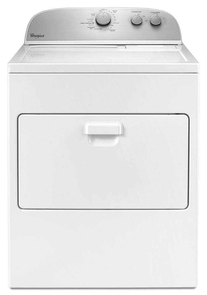 7.0 cu. ft. Top Load Electric Dryer with the Wrinkle Shield option