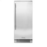 True ManufacturingTrue Manufacturing 15 Inch Stainless Solid Door Clear Ice Machine - Left Hinge Stainless Solid